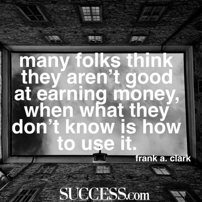 Quotes About Getting Money