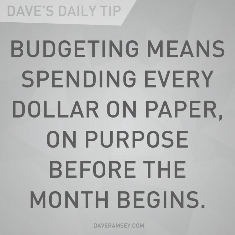 Quotes On Budgeting
