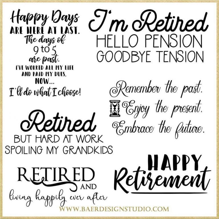 Retirment Sentiments