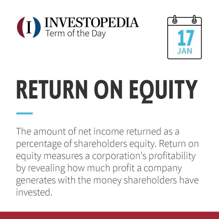 Roe Investopedia