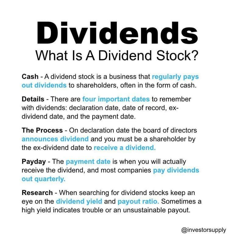 Stocks Vocabulary