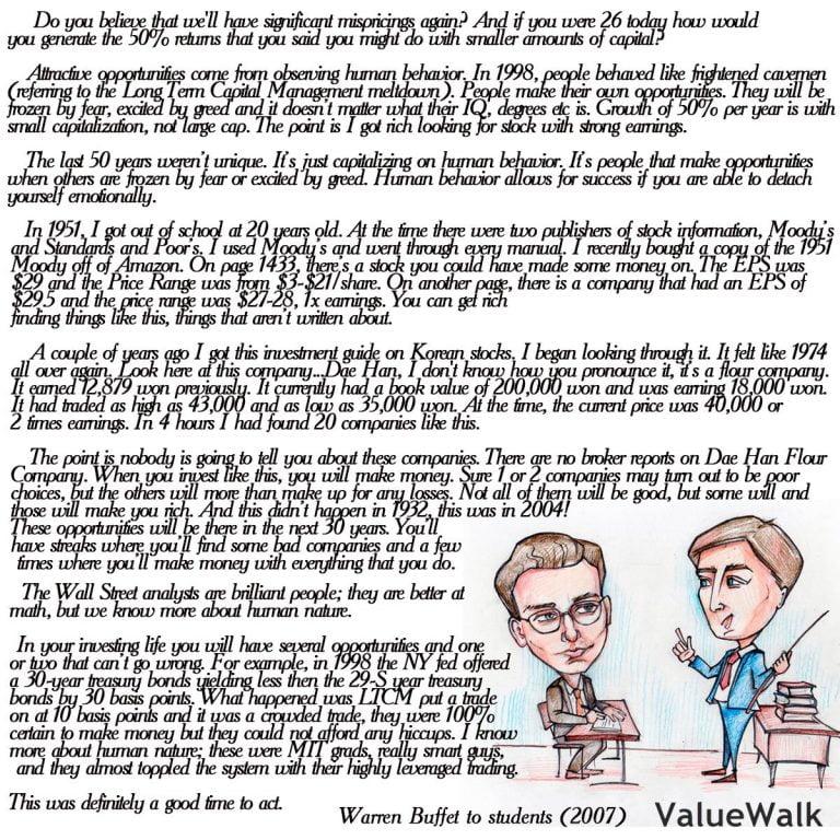 What Does Warren Buffett Read Everyday