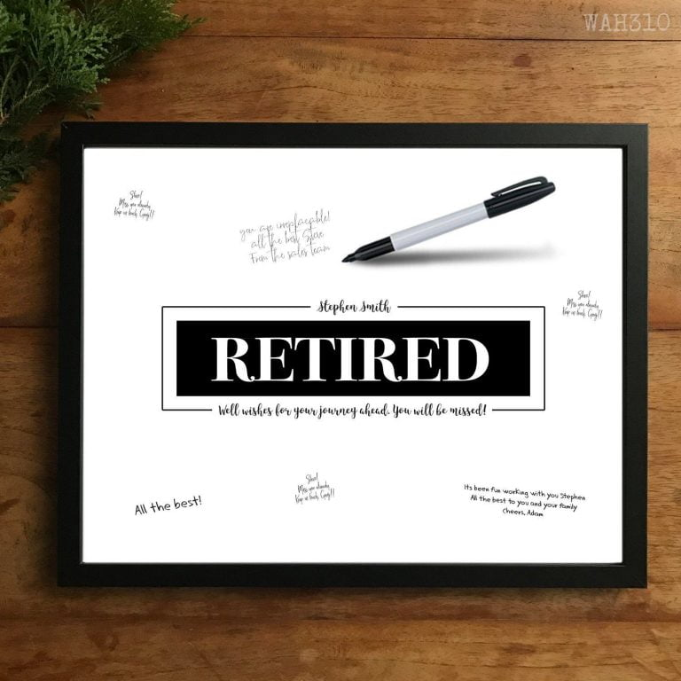 What To Write When Someone Retires