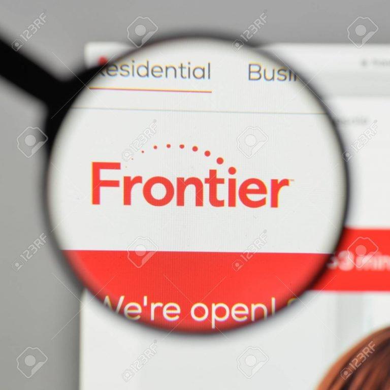 Frontier Hompage