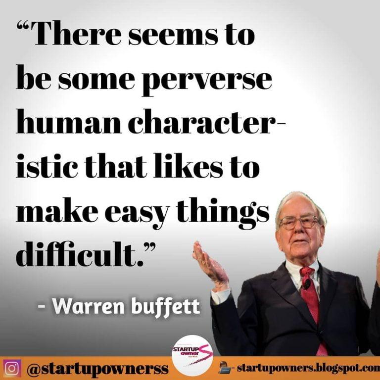 Excellent Tips By Warren Buffett In English