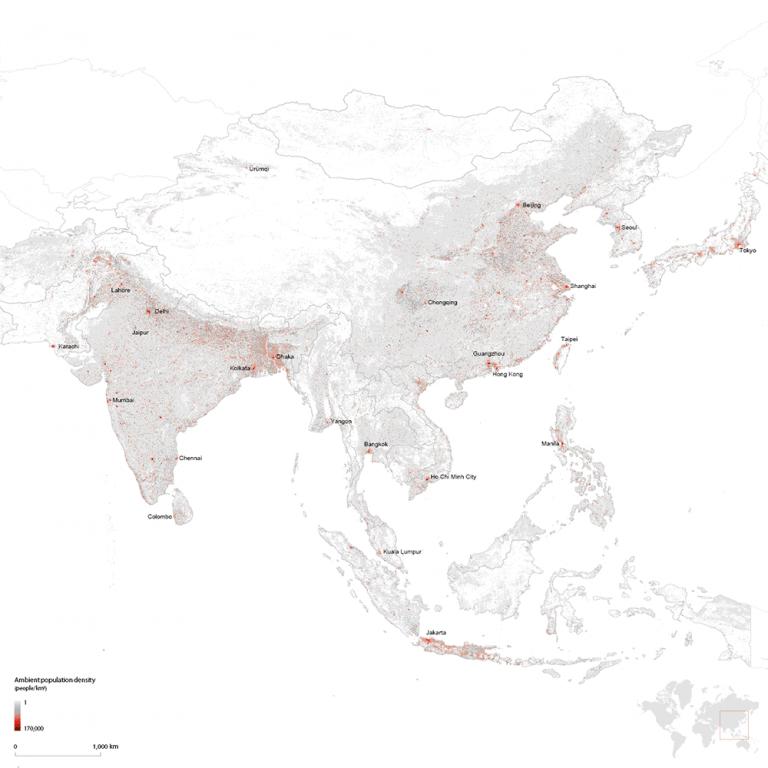 Highest Population Density City