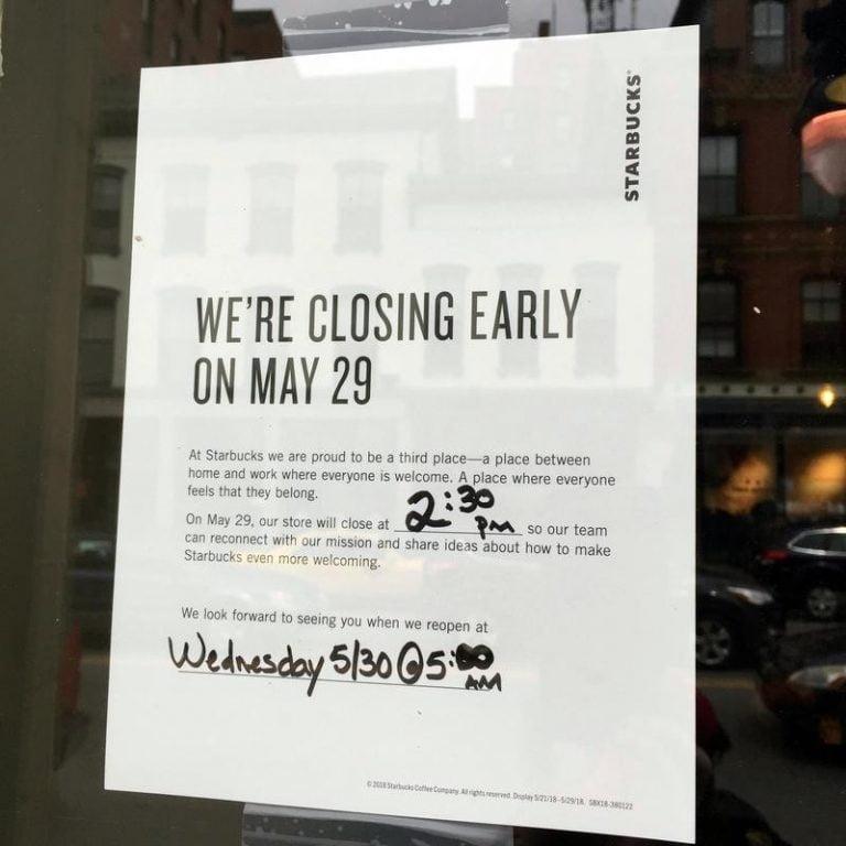 Starbucks Closing Stores Locations